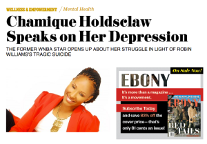 CH in Ebony Magazine