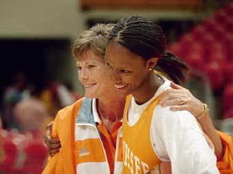 Chamique and Pat Summitt (News Sentinel Archive)